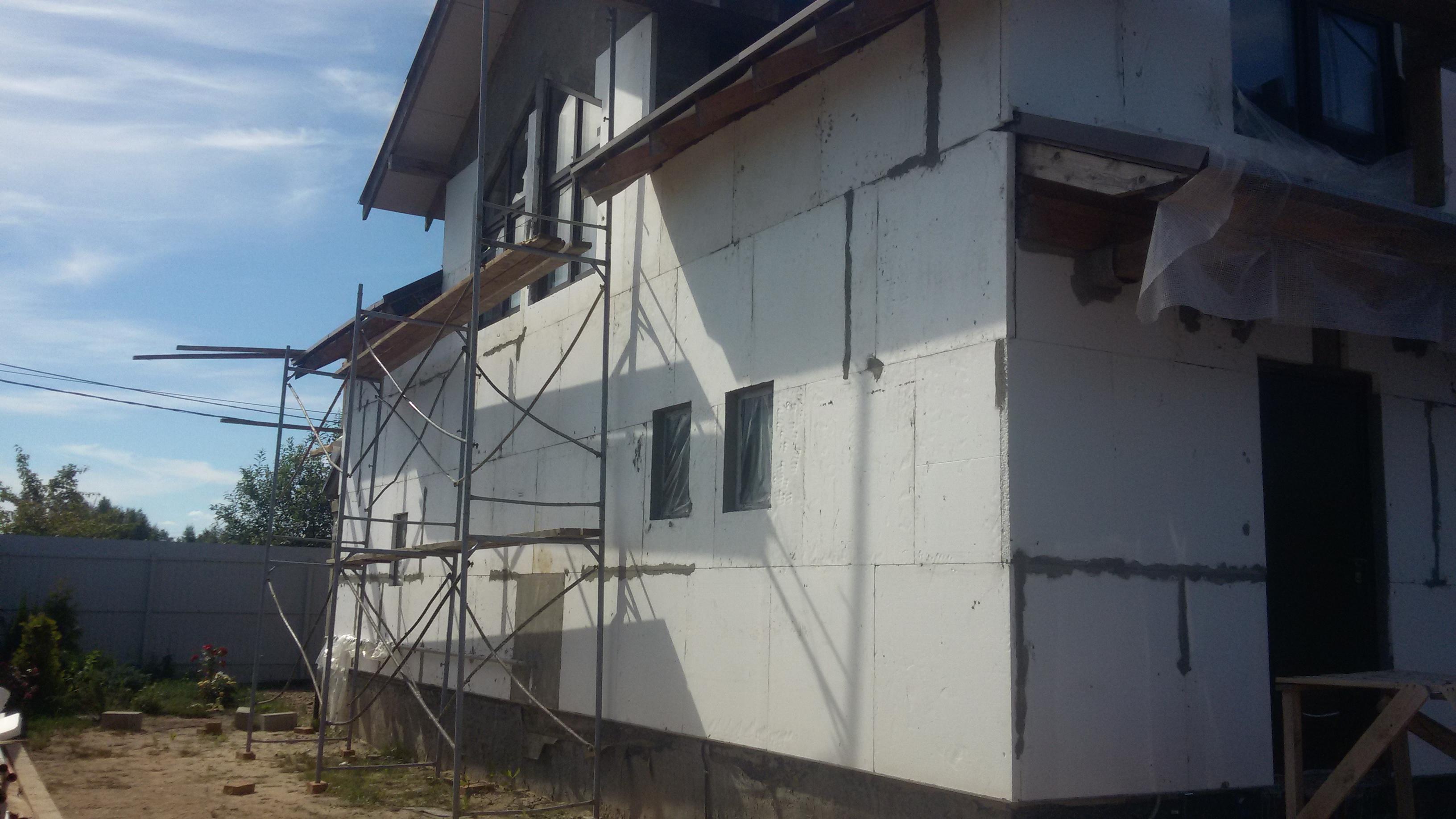 Утепление и отделка фасада