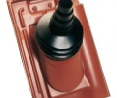 Flaming PVC-Antennendurchlass