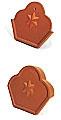 Zierfirstplatten (Kleeblatt)
