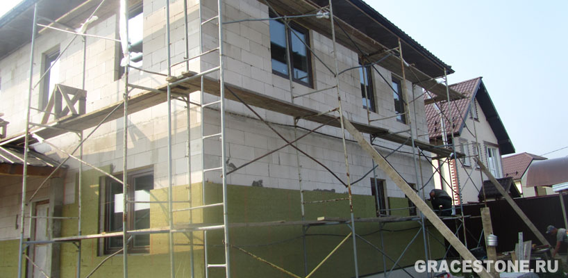 Варианты отделки фасадов домов из кирпича