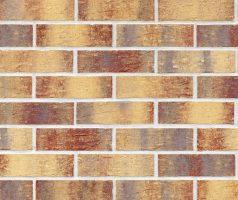 Клинкерная фасадная плитка Rainbow brick (HF15)