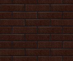 Глазурованная клинкерная плитка для фасада Brown-glazed (02) Коричневый