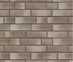 Weißensee, braun weiß geschlämmt - Keramikfassade