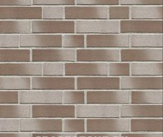 Köpenick, braun weiß geschlämmt - Keramikfassade