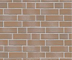 Tegel, braun beige weiß geschlämmt - Keramikfassade