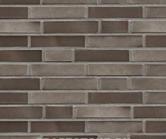 Charlottenburg, dunkelbraun, grau-beige - Keramikfassade