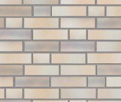Elmshorn, ocker-grau - Keramikfassade