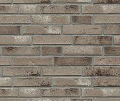 Grunewald + Dahlem, beige-grau, braun-grau,  Kohle, weiß geschlämmt - Keramikfassade