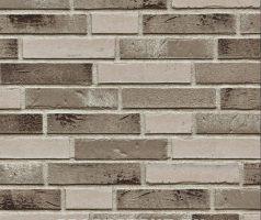 Grunewald + Lichterfelde + Dahlem, hellbeige, beigegrau, dunkelgraubeige, Kohle, weiß geschlämmt - Keramikfassade
