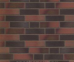 Blankenese-Winterhude, Mischsortierung dunkel bunt - Keramikfassade