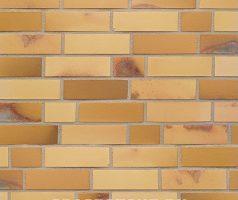 Gelb-Kohlebrand - Keramikfassade