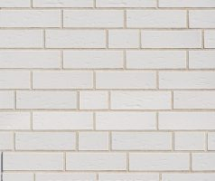 Tasna , weiß genarbt - Keramikfassade