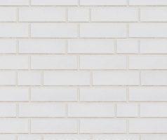 Tasna , weiß glatt - Keramikfassade