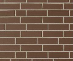 Braun , braun glatt - Keramikfassade