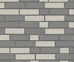 Beige Grau Mischverlegung, Beige Grau - Keramikfassade