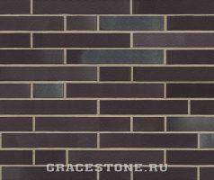 Winterhude, schwarz blau-bunt - Keramikfassade