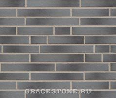 Texel, grau-bunt - Keramikfassade