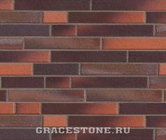 Buxtehude, rot braun-bunt - Keramikfassade