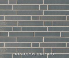 Islandgrau, dunkelgrau-uni-glänzend - Keramikfassade