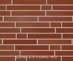 Kastanienbraun, braun-uni-glänzend - Keramikfassade