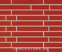 Signalrot, rot-uni-glänzend - Keramikfassade