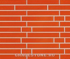 Apricot, orange-uni-glänzend - Keramikfassade