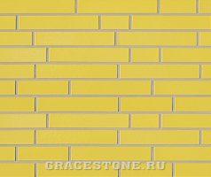Rapsgelb, gelb-uni-glänzend - Keramikfassade