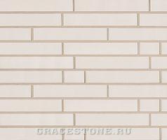 Astralweiß, weiß-uni- glänzend - Keramikfassade