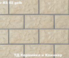 Плитка для цоколя Stroeher KS 02 gelb