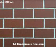 Плитка для цоколя  Stroeher 1100 / 215 rot
