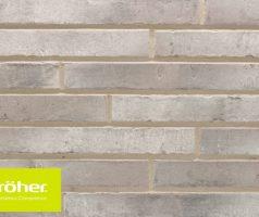 Фасадная плитка 440х52х12 цвет 472 grau engobiert