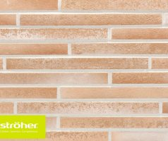 Фасадная плитка 490х40х14 цвет 454 creme-weiß
