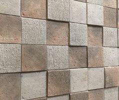 Мозаика 3D для отделки фасада дома