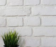 Плитка кирпич White Beton