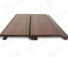 Фасадная доска 156x21 Шоколад, глубокая структура дерева