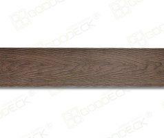 Террасная доска полнотелая 140x18 Премиум (Коричневый)