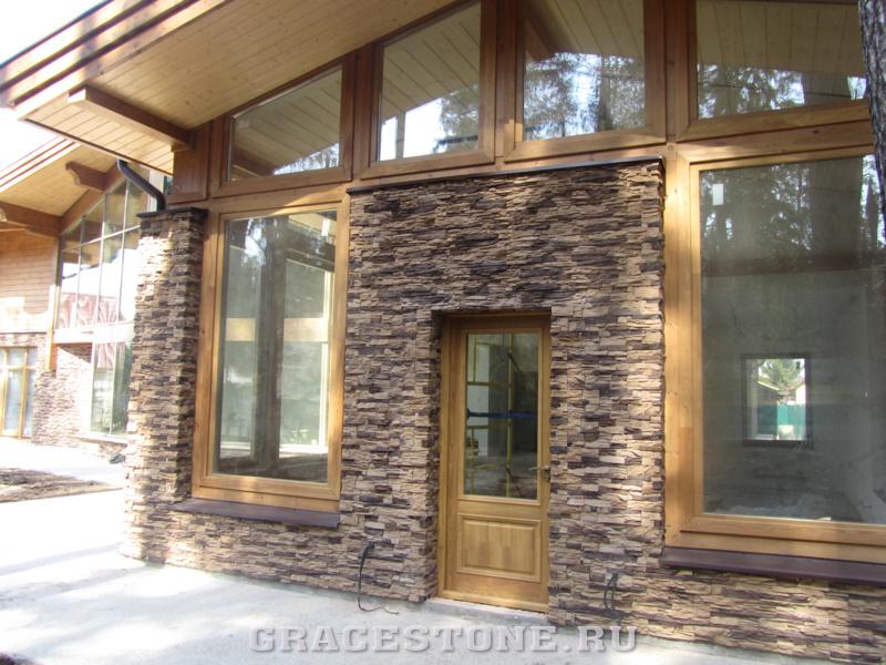 Отделка фасадов панелями под камень цена